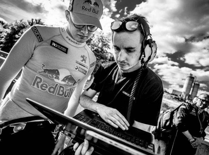Il giovane Kevin Hansen (Peugeot 208 WRX) punta a fare la sua gara a Silverstone - Foto 1 di 3