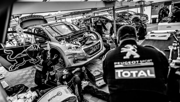 Timmy Hansen (team Peugeot Total) determinato a salire sul podio anche in UK - Foto 2 di 2