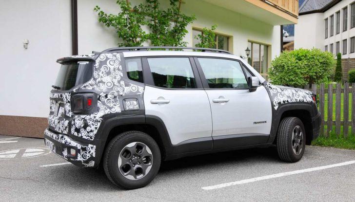 Jeep Renegade restyling 2019, nuove immagini dei test - Foto 5 di 12