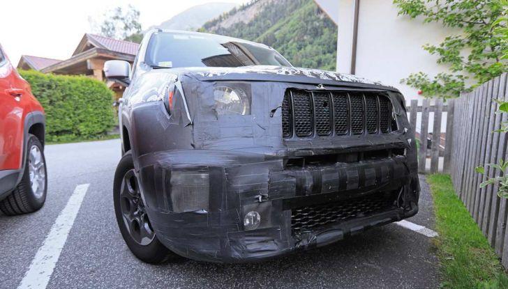 Jeep Renegade restyling 2019, nuove immagini dei test - Foto 9 di 12