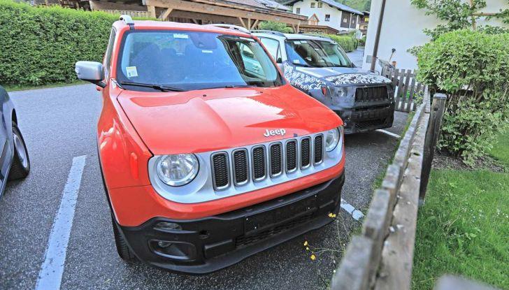 Jeep Renegade restyling 2019, nuove immagini dei test - Foto 6 di 12