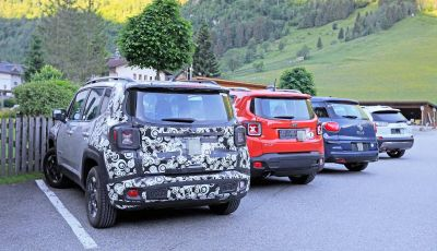Jeep Renegade restyling 2019, nuove immagini dei test