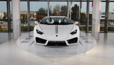 Lamborghini Huracán di Papa Francesco,  prezzo record di 715 mila euro