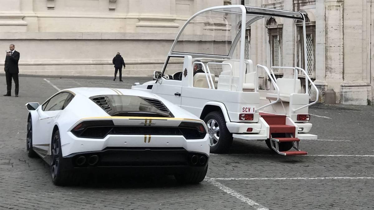 Lamborghini per Papa Francesco