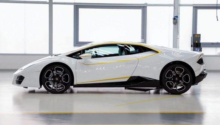 Lamborghini Huracán di Papa Francesco,  prezzo record di 715 mila euro - Foto 3 di 8