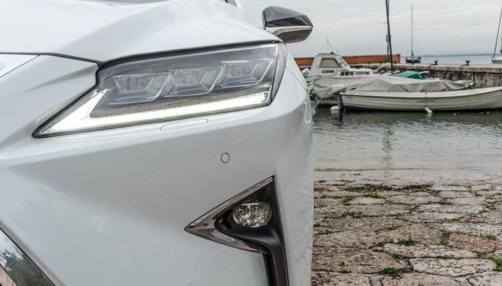 [VIDEO ]Lexus RX 450h, il SUV con 3 motori e 313CV nella nostra prova - Foto 22 di 38