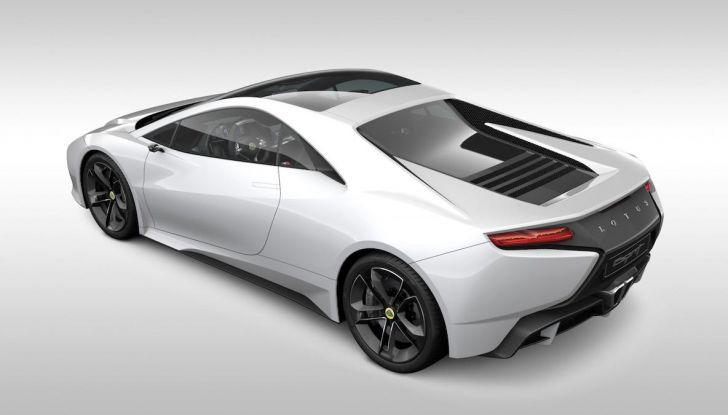 Nuova Lotus Esprit 2020, costruita nel segno di Colin Chapman - Foto 3 di 9
