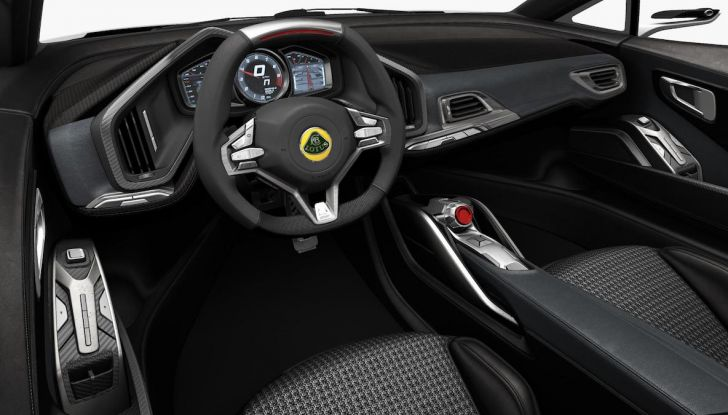 Nuova Lotus Esprit 2020, costruita nel segno di Colin Chapman - Foto 4 di 9