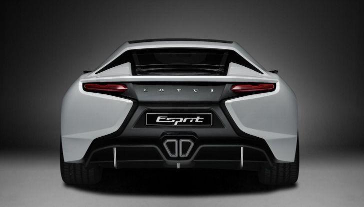 Nuova Lotus Esprit 2020, costruita nel segno di Colin Chapman - Foto 6 di 9