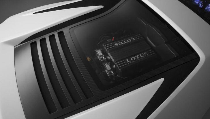 Nuova Lotus Esprit 2020, costruita nel segno di Colin Chapman - Foto 5 di 9