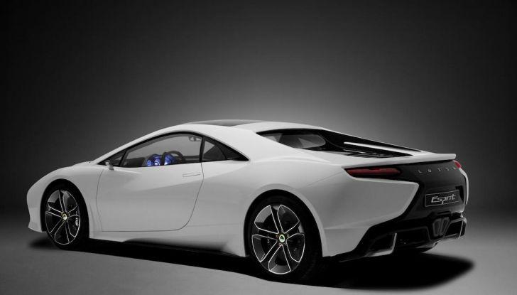 Nuova Lotus Esprit 2020, costruita nel segno di Colin Chapman - Foto 2 di 9