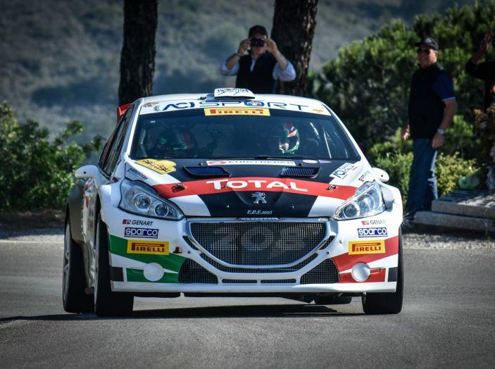 Marco Pollara (Peugeot 208 T16 ufficiale) sfortunato all'Elba 2018 - Foto 2 di 2