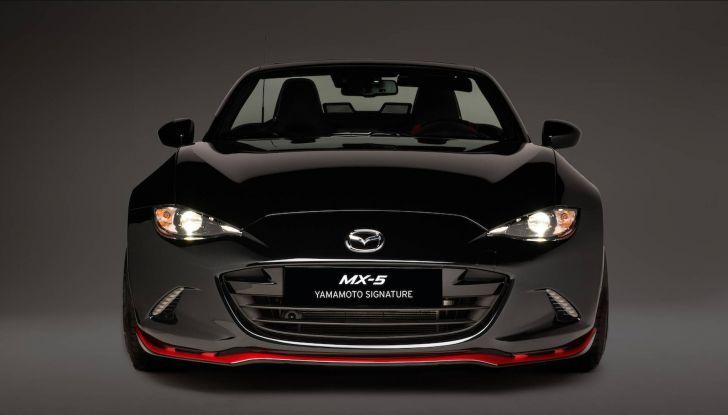 Mazda MX-5 Yamamoto, 4 esemplari al prezzo di 37.500 euro - Foto 4 di 16