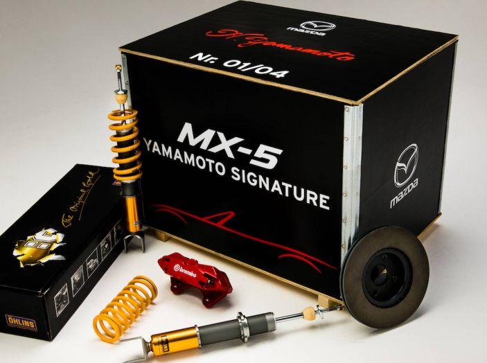 Mazda MX-5 Yamamoto, 4 esemplari al prezzo di 37.500 euro - Foto 11 di 16