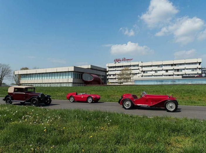 Mille Miglia 2018, Alfa Romeo protagonista con tappa anche al Museo Alfa di Arese - Foto 1 di 10