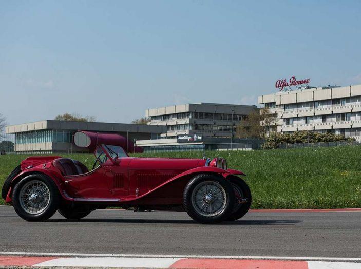 Mille Miglia 2018, Alfa Romeo protagonista con tappa anche al Museo Alfa di Arese - Foto 3 di 10