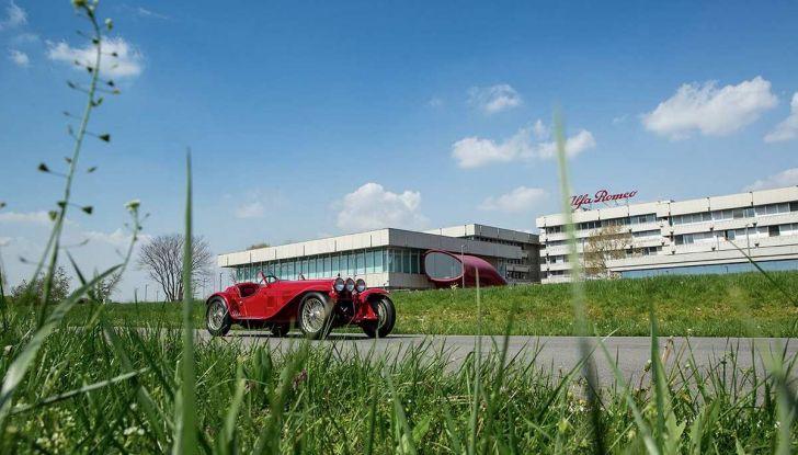 Mille Miglia 2018, Alfa Romeo protagonista con tappa anche al Museo Alfa di Arese - Foto 4 di 10