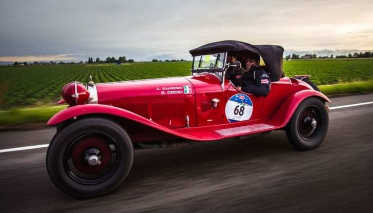 Mille Miglia 2018, Alfa Romeo protagonista con tappa anche al Museo Alfa di Arese - Foto 6 di 10