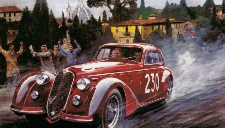 Mille Miglia 2018, Alfa Romeo protagonista con tappa anche al Museo Alfa di Arese - Foto 7 di 10
