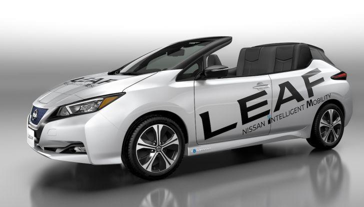 Nissan Leaf Open Car: l'elettrica nipponica diventa cabriolet - Foto 1 di 3