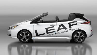 Nissan Leaf Open Car: l'elettrica nipponica diventa cabriolet