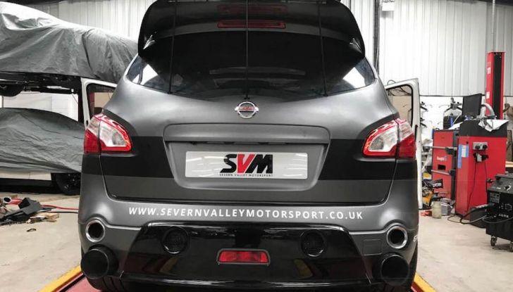 Nissan Qashqai da 2.000CV è il SUV più veloce del mondo [VIDEO] - Foto 15 di 20