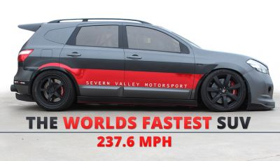 Nissan Qashqai da 2.000CV è il SUV più veloce del mondo [VIDEO]