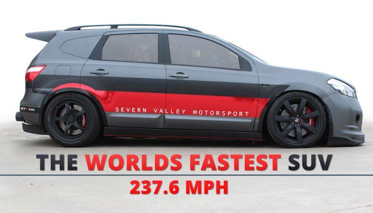 Nissan Qashqai da 2.000CV è il SUV più veloce del mondo [VIDEO] - Foto 1 di 20
