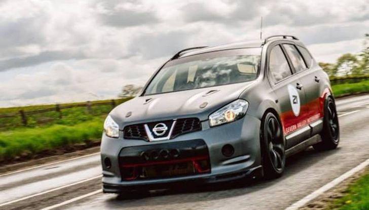 Nissan Qashqai da 2.000CV è il SUV più veloce del mondo [VIDEO] - Foto 3 di 20