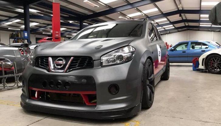 Nissan Qashqai da 2.000CV è il SUV più veloce del mondo [VIDEO] - Foto 2 di 20