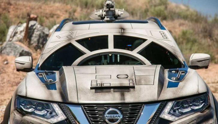 Nissan X-Trail Millennium Falcon ispirata a Solo: A Star Wars Story - Foto 2 di 7