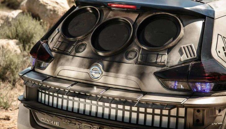 Nissan X-Trail Millennium Falcon ispirata a Solo: A Star Wars Story - Foto 3 di 7