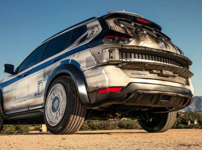 Nissan X-Trail Millennium Falcon ispirata a Solo: A Star Wars Story - Foto 5 di 7