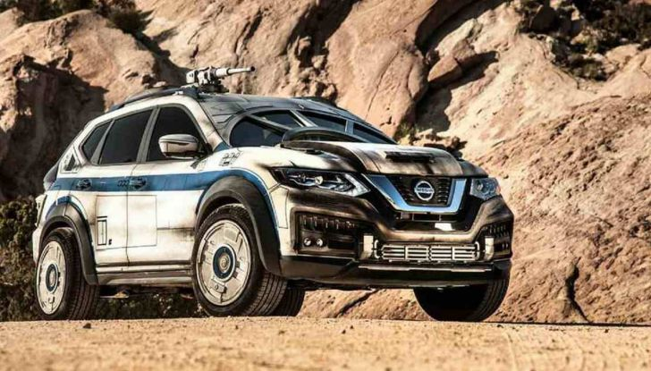 Nissan X-Trail Millennium Falcon ispirata a Solo: A Star Wars Story - Foto 1 di 7