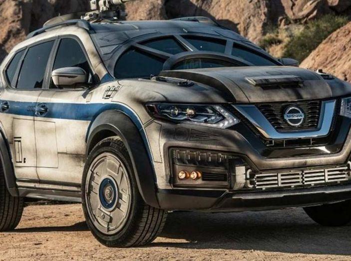 Nissan X-Trail Millennium Falcon ispirata a Solo: A Star Wars Story - Foto 7 di 7