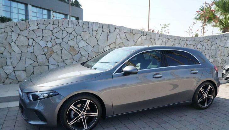 Nuova Mercedes Classe A debutta in Italia a Roma - Foto 3 di 13