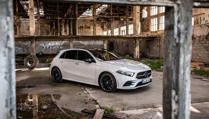 Nuova Mercedes Classe A debutta in Italia a Roma - Foto 11 di 13