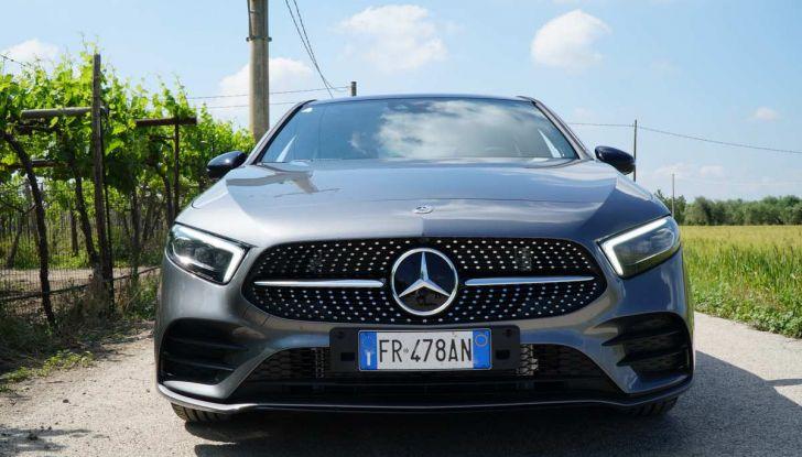 Nuova Mercedes Classe A debutta in Italia a Roma - Foto 5 di 13