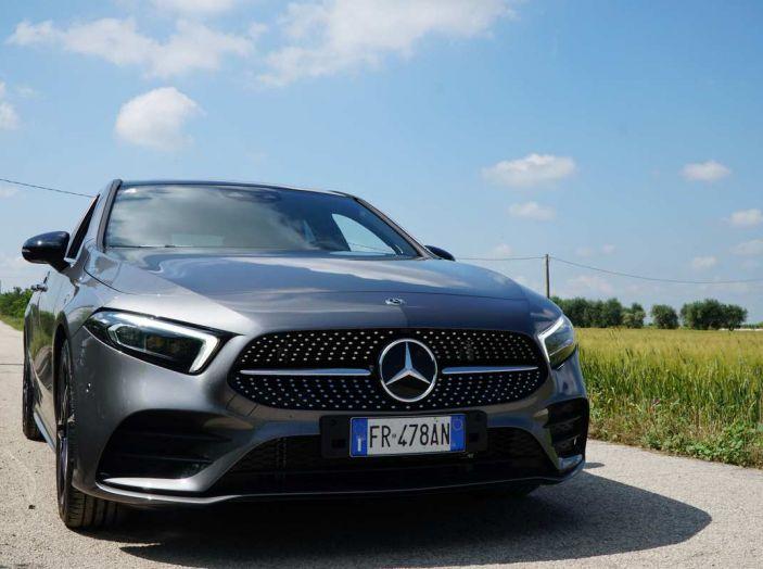 Nuova Mercedes Classe A debutta in Italia a Roma - Foto 6 di 13