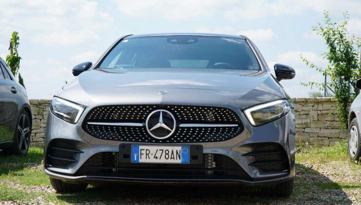 Nuova Mercedes Classe A debutta in Italia a Roma - Foto 7 di 13