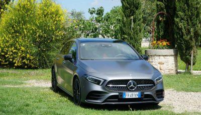 Nuova Mercedes Classe A debutta in Italia a Roma