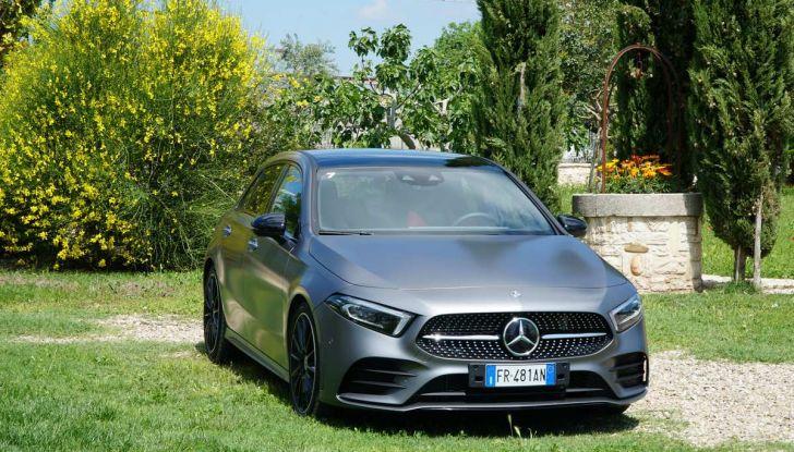 Nuova Mercedes Classe A debutta in Italia a Roma - Foto 2 di 13
