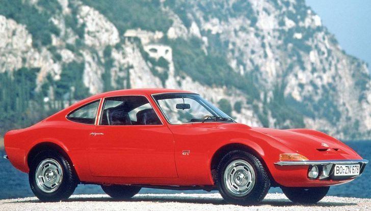 I 50 anni di Opel GT festeggiati al Verona Legend Cars 2018 - Foto 2 di 7