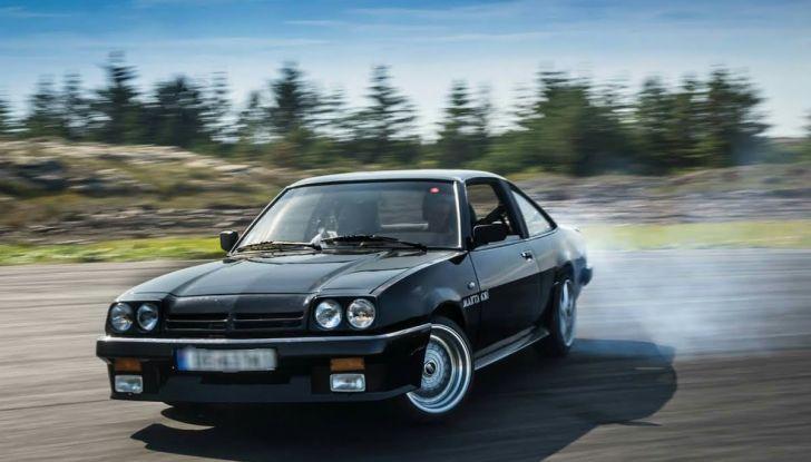 I 50 anni di Opel GT festeggiati al Verona Legend Cars 2018 - Foto 5 di 7