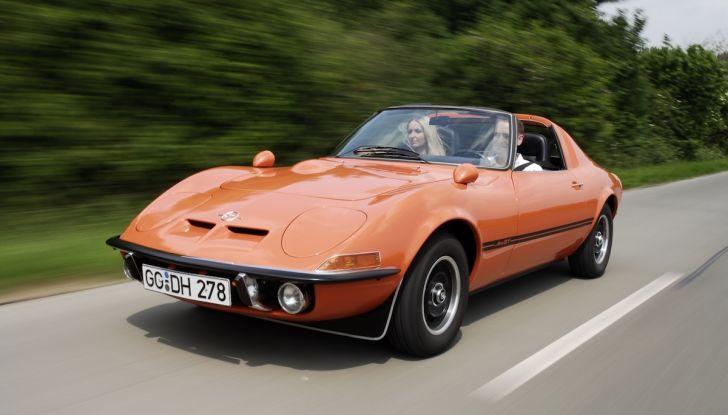 I 50 anni di Opel GT festeggiati al Verona Legend Cars 2018 - Foto 7 di 7