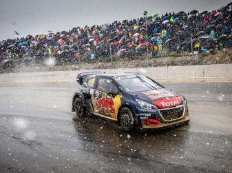Mondiale FIA RallyCross – Peugeot sale ancora sul podio