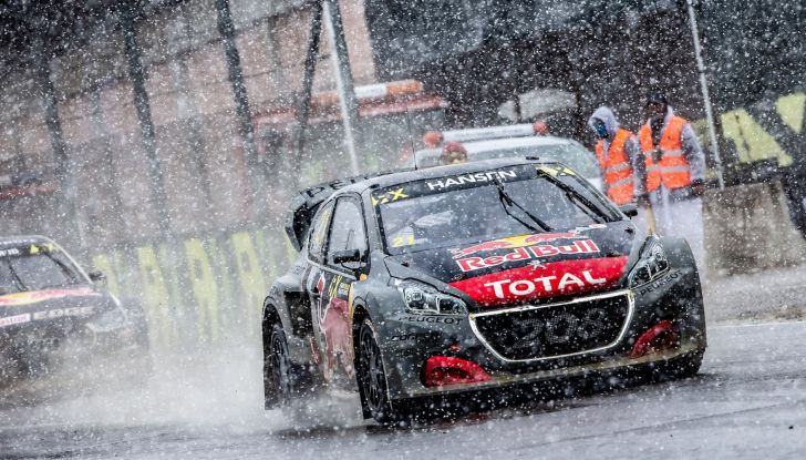 Voce al team Peugeot dopo la bella gara nel WRX in Portogallo - Foto 2 di 4
