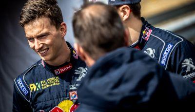 Voce al team Peugeot dopo la bella gara nel WRX in Portogallo