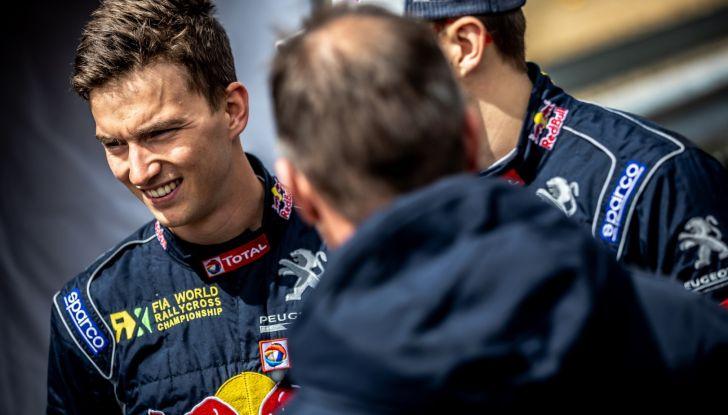 Voce al team Peugeot dopo la bella gara nel WRX in Portogallo - Foto 1 di 4