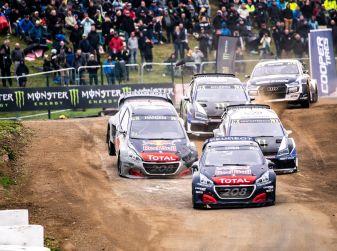 Doppio podio Peugeot nella gara belga del WRX 2018